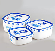 3 pcs Set Best Food Storage Containers with Lids