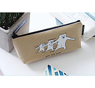 Base Base Cat Inverted Trapezoidal Pen Bag