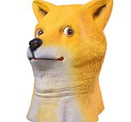 Halloween Masks / Animal Mask Shiba Inu Dog Head Holiday Supplies Halloween / Masquerade 1PCS