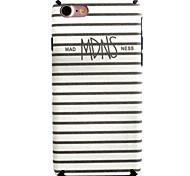 Para Funda iPhone 7 / Funda iPhone 7 Plus Diseños Funda Cubierta Trasera Funda Líneas / Olas Suave TPU Apple iPhone 7 Plus / iPhone 7