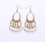 Ruili wholesale palace restoring ancient ways 6 color tassel earrings hybrid materials are various