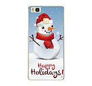 Für Muster Hülle Rückseitenabdeckung Hülle Weihnachten Weich TPU Huawei Huawei P9 / Huawei P9 Lite / Huawei P8 / Huawei P8 Lite