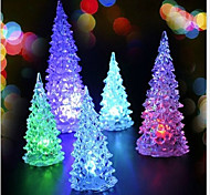 2PCS Christmas Christmas Tree Christmas Mini Led Light Colorful Nightlight(Random color)