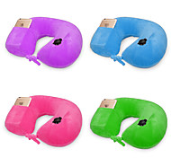 Travel Pillow Breathability Static-free Antibacterial U Shape for Travel RestBlack Purple Green Blue Blushing Pink