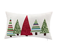 1 pcs Leather/suede Christmas Accent/Decorative Pillow With Insert 12x18 inch