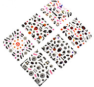12pcs Nail Art Sticker Adesivi 3D unghie makeup Cosmetic Nail Art Design