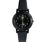 Women's Sport Watch Water Resistant / Water Proof Quartz Rubber Band Casual Black