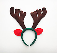 2pcs der erste Weihnachtsfeiertags-Party-Kopfband Schnalle drei Geweih Geburtstagsparty liefert Requisiten