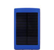 10000mAhmAhbanco do poder de bateria externa Recarga com Energia Solar / Lanterna 10000mAh 1000mA Recarga com Energia Solar / Lanterna