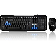 Wired computer mouse keyboard silent Ergonomic waterproof