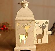 восстановление древних путей рождественские ангелы деревца подсвечника из кованого железа ураган лампа статьи обеспечения 19 * 7 * 7 см