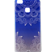 For Huawei Ascend P9 P9Lite P8Lite Case Cover Gradient Lace Pattern Painting Super Soft TPU Material