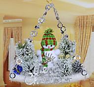 Christmas Christmas tree Decorations Sliding Plate Pendant/Random Color