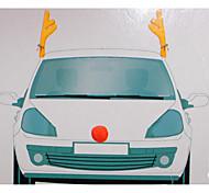 voiture décoration de noël bois  de voiture 44 * 14cm