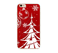 Christmas Tree TPU Soft Case Cover for iPhone 7 7 Plus iPhone 6 6 Plus iPhone 5 5C  iPhone 4