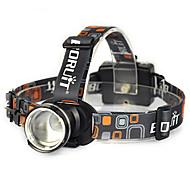 Налобные фонари Ремешок для налобного фонаря огни безопасности LED 10000 Люмен 1 Режим Cree XM-L T6 Угловой фонарь Очень легкие Подсветка