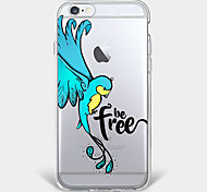 Free bird  TPU Case For Iphone 7 7Plus 6S/6 6Plus/5 5S SE