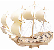 Jigsaw Puzzles Wooden Puzzles Building Blocks DIY Toys Falcon Warships 1 Wood Ivory Puzzle Toy