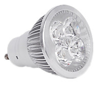 Dimmable / Decorative 4W GU10 400LM Warm/Cool White LED Spotlight (AC220V)