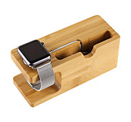 Mini Universal Charging Bracket Holder Fashion Natural wood Socket Real Wood Bamboo Phone Holder
