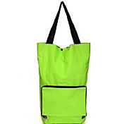 Foldable Shopping Carts/Bag with Wheels Large Capacity Multifunctional Outdoor Tug Package Portable Pulley Storage Bag