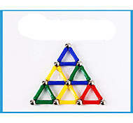 Magnet Toys 28Pcs Magnet Toys Novelty Executive Toys Puzzle Cube DIY Toys Magnetic Balls Red / Green / Blue / Yellow Education ToysFor