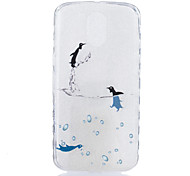 For Motorola Moto G4 Plus Case Cover Little Dolphin Pattern Back Cover Soft TPU G4