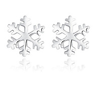 Stud Earrings Sterling Silver Silver Jewelry For Wedding Party 1 pair