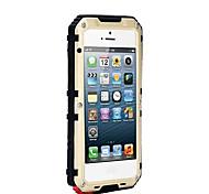 Para Agua / Polvo / prueba del choque Funda Cuerpo Entero Funda Un Color Dura Metal AppleiPhone 7 Plus / iPhone 7 / iPhone 6s Plus/6 Plus