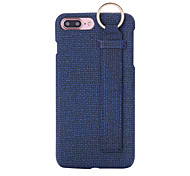 For Apple iPhone 7 7Plus 6S 6Plus Case Cover Solid Denim Back Panel Buckle Phone Case