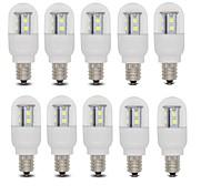 3W E14 / E12 LED Kugelbirnen T 15 SMD 2835 385 lm Warmes Weiß / Kühles Weiß AC 220-240 V 10 Stück