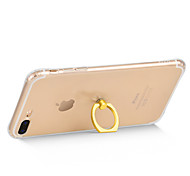 HOCO Soft TPU Clear Case With Metal Ring Holder for iPhone 7 iPhone 7 Plus
