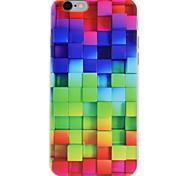 Для Рельефный Кейс для Задняя крышка Кейс для Геометрический рисунок Мягкий TPU для Apple iPhone 7 Plus / iPhone 7 / iPhone 6s/6