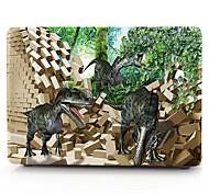 3d schwarz Dinosaurier Muster macbook Computergehäuse für macbook air11 / 13 pro13 / 15 Pro mit retina13 / 15 macbook12