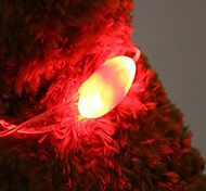 Cuello Luces LED Pilas incluidas Novedad Plástico Rojo Verde Azul Rosa