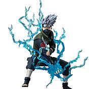 Figuras de Ação Anime Inspirado por Naruto Hatake Kakashi Anime Acessórios de Cosplay figura Azul PVC