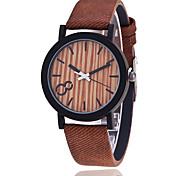 Xu™ Damen Modeuhr Armband-Uhr Quartz PU Band Vintage Bequem Schwarz Orange Braun Grau Schwarz Orange Grau Braun