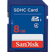 SanDisk 8GB Tarjeta SD tarjeta de memoria class4