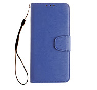 For Google Pixel XL Pixel Wallet Case Full Body Case Solid Color Hard PU Leather