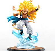 Figuras de Ação Anime Inspirado por Dragon ball Fantasias Anime Acessórios de Cosplay figura Amarelo PVC