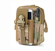 Universal Outdoor Tactical Holster Military Hip Waist Belt Camouf Bag Wallet Pouch Purse Phone case with Zipper for iphone7 7P 6S 6P 5 and other phone