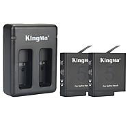 Accessoires für GoPro,Charger BatterieFür-Action Kamera,GoPro Hero 5 Tauchen Fahhrad 1 Plastik