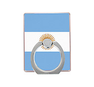 Flag of Argentina Pattern Plastic  Ring Holder / 360 Rotating for Mobile Phone
