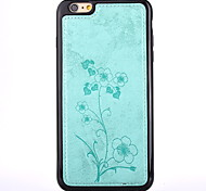 For Apple iPhone 7 Plus / iPhone 7 / iPhone 6s Plus/iPhone 6 Plus /iPhone 6s/iPhone 6 The Flowers with PU Leather TPU Frame