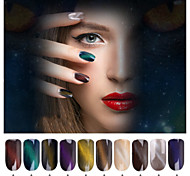 1GBox  Hot Style Manicure Cat'S Eye Powder Magnetic Chameleon Super Cat'S Eye Imported Laser Mirror Powder Bottled