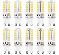 3W G9 LED Bi-pin Lights T 48 SMD 2835 320 lm Warm White / Cool White Waterproof AC 220-240 V 10 pcs