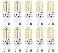 3W G9 2-pins LED-lampen T 48 SMD 2835 320 lm Warm wit / Koel wit Waterbestendig AC 220-240 V 10 stuks