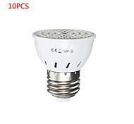 10PCS E27 5W 72 LED 2835 SMD Full Spectrum Grow Light Bulb Greenhouse Hydroponic System Veg Flowers Plants Lamp Grow Box