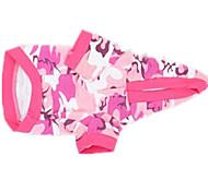 Кошка Собака Плащи Одежда для собак Очаровательный Английский Розовый
