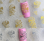 6pcs Nail Art Sticker Adesivi 3D unghie makeup Cosmetic Nail Art Design